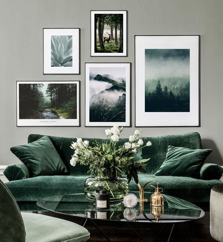 Gallery wall inspiration – Find these posters and more beautiful prints like this at posterstore.com