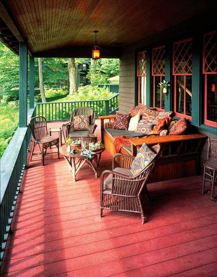 There's nothing more relaxing than a summertime porch—unless most of the time you spend there involves epoxy and a paint brush.