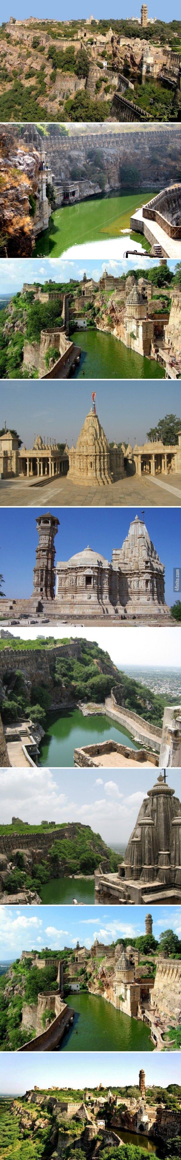 8 Fotoğrafta Zamanda Kaybolmuş Yer - Benteng Chittorgarh Fort Hindistan - 4finite.com