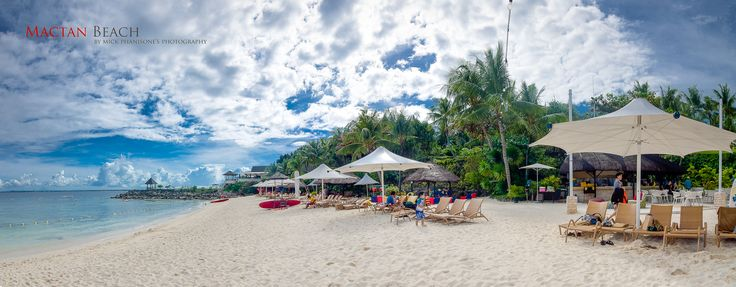 my panoramic shot in Mactan beach, cebu, Philippines