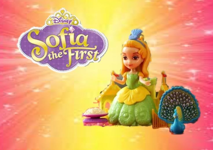 DISNEY SOFIA princess amber & the peacock unboxing