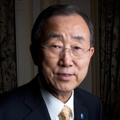#30: Ban Ki-moon. Secretary-General of the United Nations.