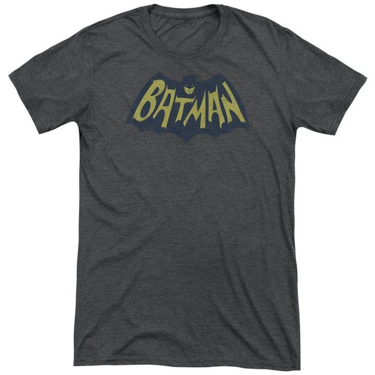 Batman Show Bat Logo Adult Tri-Blend T-Shirt