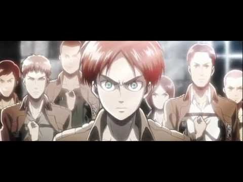 Attack on Titan - Castle of Glass [AMV] - YouTube