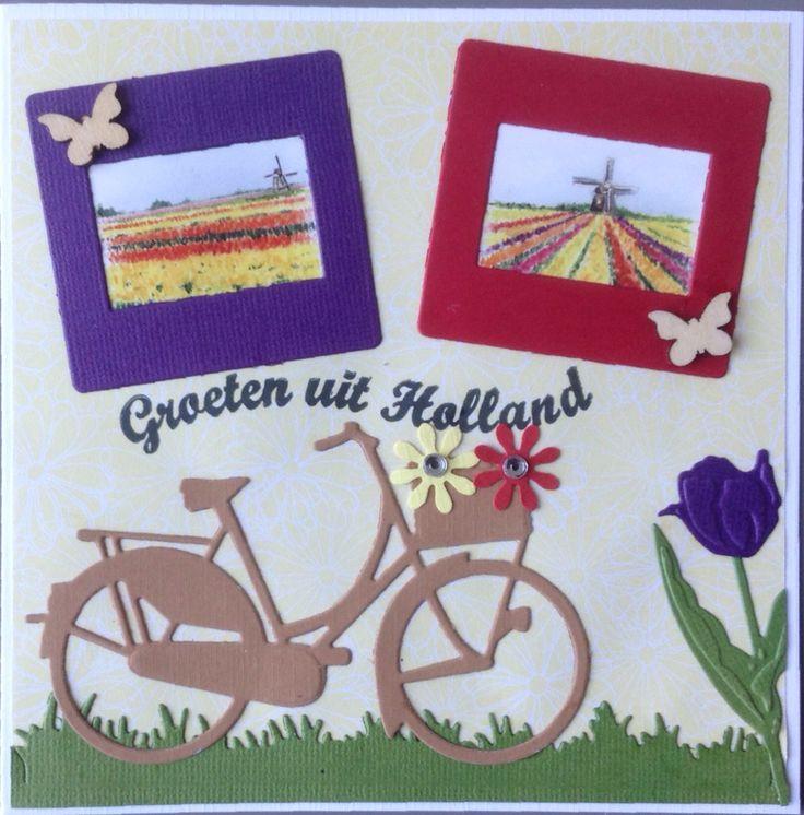 Hollandse groeten met fiets en bollenvelden naar Engeland