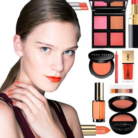 les 25 meilleures id es concernant rouge l vres orange sur pinterest maquillage rouge. Black Bedroom Furniture Sets. Home Design Ideas