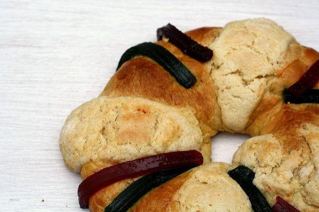 Panadería Mexicana: Rosca de Reyes: Mantequilla con azúcar