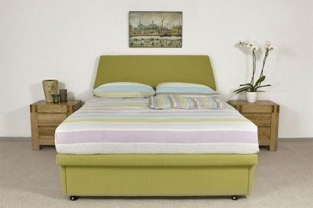 The Zodiac Ottoman Storage Bed £650.00  The elegant Zodiac Lift-Up ottoman Storage Bed conceals a huge storage compartment and can be upholstered in a choice of colours to set the décor for your room.