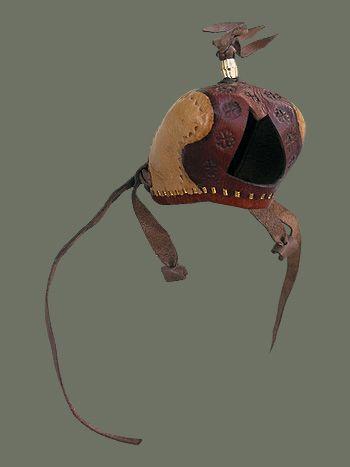 Saudi Arabia - Leather Falcon Hood