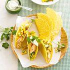 Tacos met zalm en pittige salsa