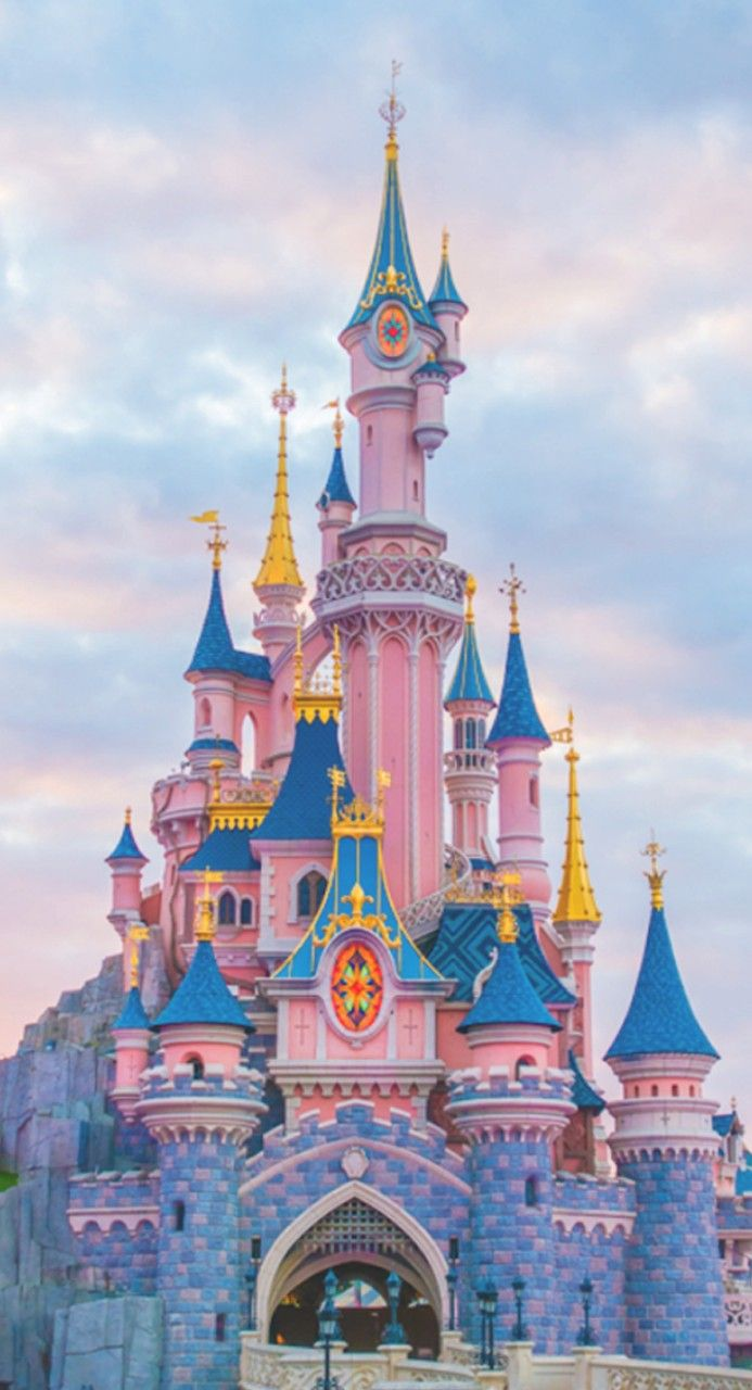 Tumblr Disney Castle Wallpaper Iphone