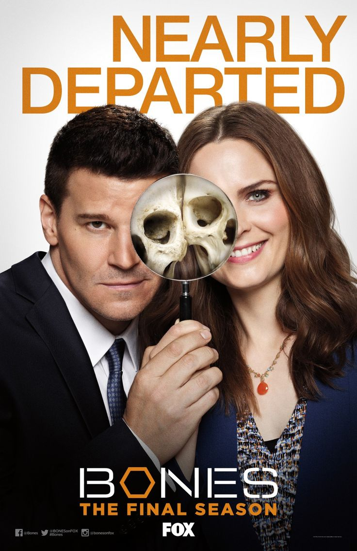 Bones Final Season Poster
