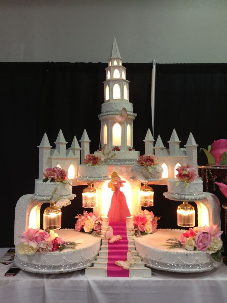 Cake Ideas For Quinceaneras : tower cakes ? Pinteres?