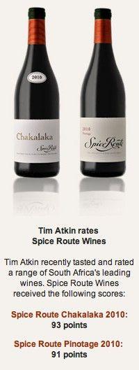 Spice Route wines #taninotanino #vinosmaximum