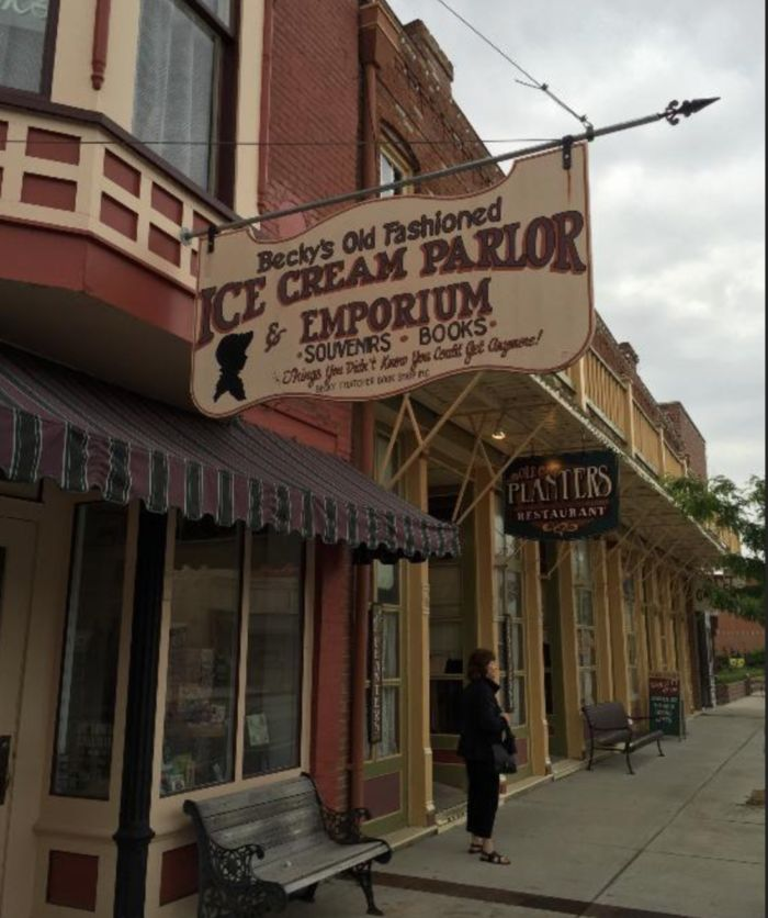 4. Becky's Old Fashioned Ice Cream Parlor & Emporium - Hannibal, MO
