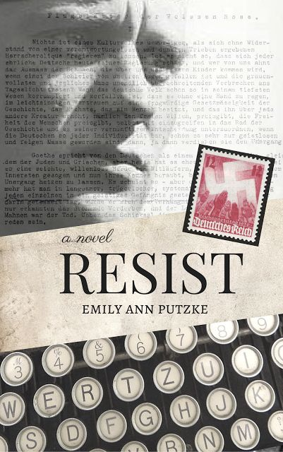Today's the cover reveal for my upcoming WWII novel, RESIST! Not only that, but you can now pre-order the ebook on Amazon!