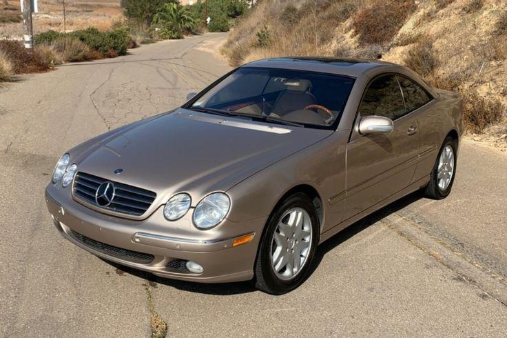 No Reserve 20kMile 2001 MercedesBenz CL500 Mercedes