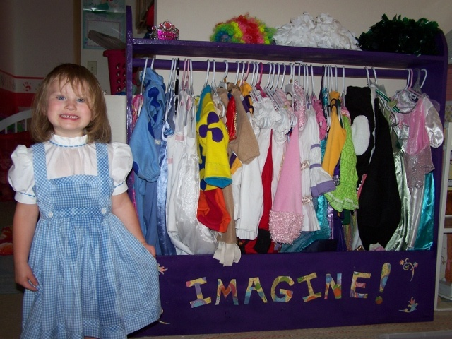 291 Best Images About Dress Up Storage On Pinterest