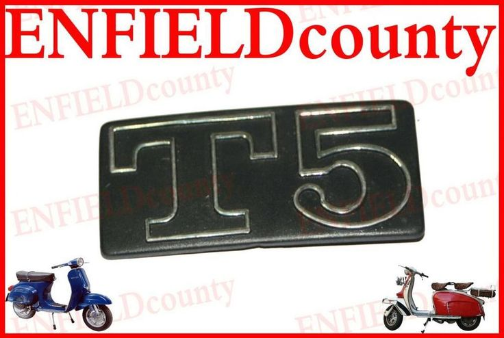 BRAND NEW VESPA T5 SIDE PANEL BADGE MOTIF LOGO VESPA T5 CLASSIC SCOOTER