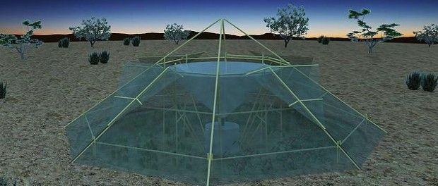 New Self Sufficient Greenhouse That Can Grow Food & Produce Water
