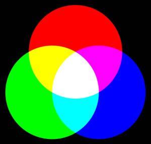 Groen, oranje en paars zijn de secundaire kleuren. Je verkrijgt ze door twee basiskleuren met elkaar te mengen.n