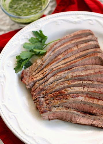 Steak w/ chimmichuri sauce The Girl Who Ate Everything   Quick and Easy Family Recipes