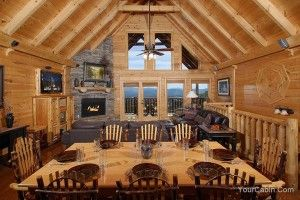 Timber Tops believes in making every guest happy. While not all of our cabins provide the same amenities, most do offer... Click here to see: http://www.yourcabin.com/blog/gatlinburg-cabin-rentals/4-reasons-will-love-semi-secluded-cabins-gatlinburg/