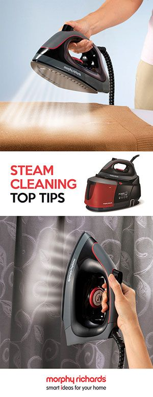 Read top tips on how to make the most out of your Auto-Clean Power Steam Elite on the Morphy Richards blog...