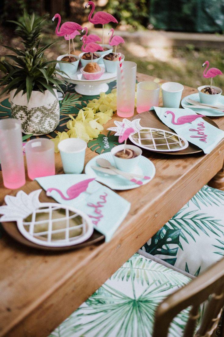 Themenparty Karibik Hawaii. DIY-Ideen für Ihre nächste Sommerparty. Lust auf S …