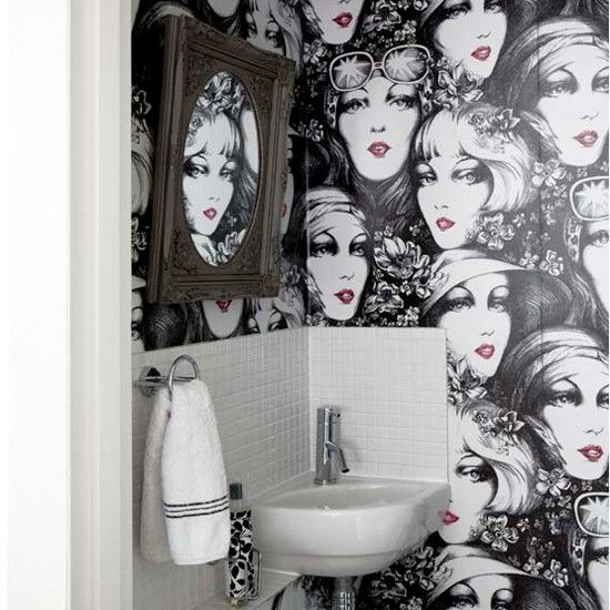 Quirky Wallpaper Home Walls Pinterest Wallpapers