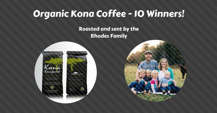 The Organic Kona Coffee Giveaway!