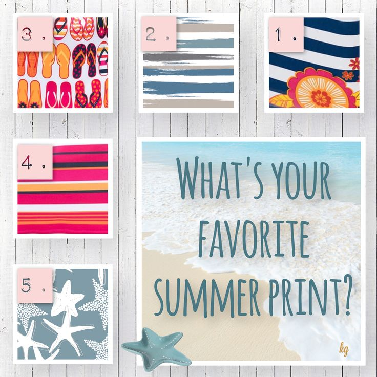 Summer 2017 NEW Thirty-One prints & patterns! Which one is your favorite?