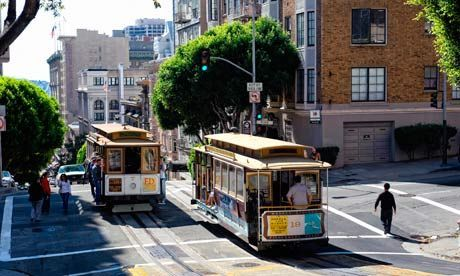 Top 10 budget hotels, hostels and B&Bs in San Francisco --  You might expect San Francisco to be full of hip places to stay for a song, but its budget scene is heavy on Victorian B&Bs and small European-style hotels. Here are 10 of the best. (By Bridget Gleeson The Guardian UK, Tuesday 28 May 2013)