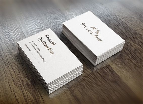 New logo & business card for a friend's hairdressing business!