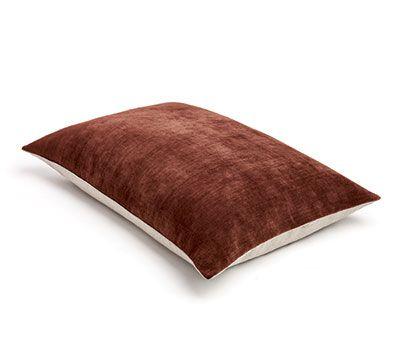 Mrs.Me home couture|heavy velvet cushion|Epic Marsala
