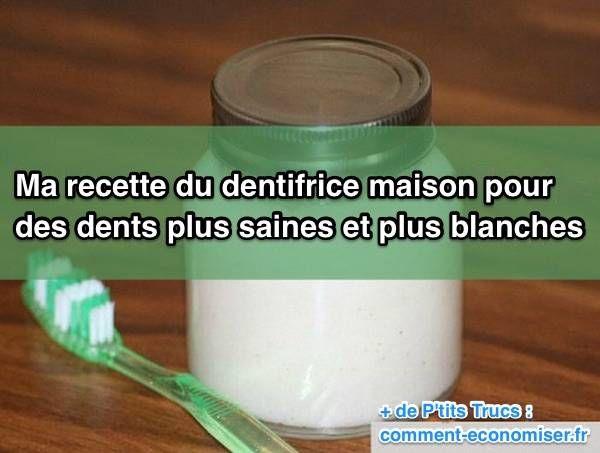 Il y a quelques années, j'ai commencé à m'intéresser aux ingrédients des dentifrices du commerce.  Découvrez l'astuce ici : http://www.comment-economiser.fr/recette-facile-dentifrice-maison.html