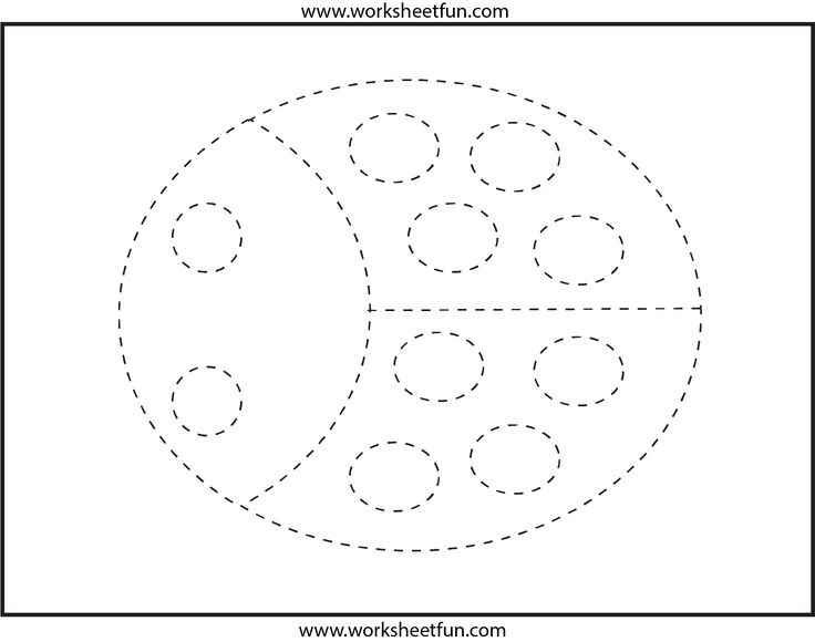 53 Best Images About Pre-K Cutting & Tracing Worksheets On