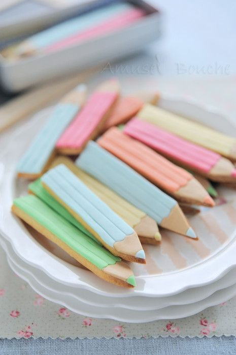 DIY crayon biscuits and cake