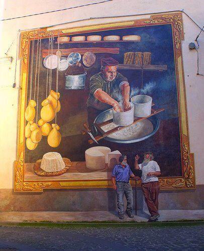 Murale di Thiesi - Autore: Pina Monne