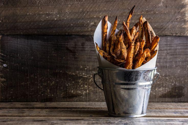 Crispy Baked Sweet Potato Fries with Horseradish Aioli — The Whole Bite