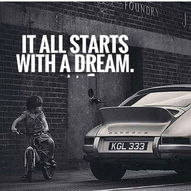 IT ALL STARTS WITH DREAM