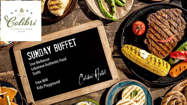 International Sunday Buffet at Hotel Colibri (starting from $20 instead of $30)