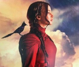 picture of poster of katniss from hunger games