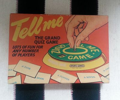 Spears Tell Me Game From The 1960s