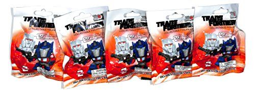 Transformers Collectible Figurines Lot of 5 Blind Bag Series 2 Hasbro Figures ** Want additional info? Click on the image.