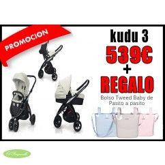 CasualPlay - Kudu 3 #elparquecillo #tiendaonline #bebes #cochecitos #mamaprimeriza
