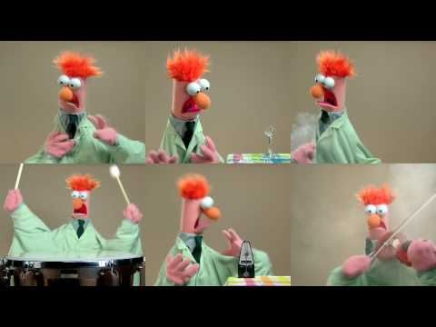 The Muppets: Ode To Joy; All sorts of concepts. Melody to harmony. Accelerando, etc.