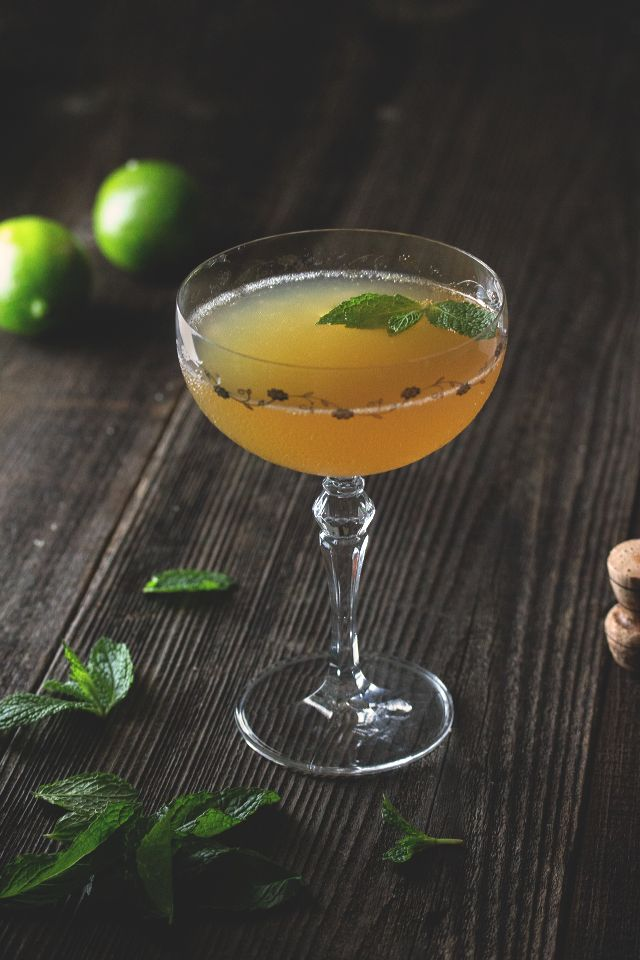 Old Cuban Cocktail by HonestlyYUM