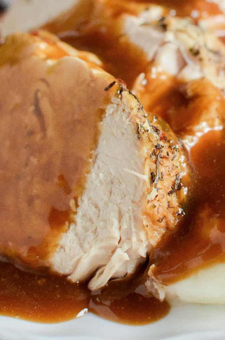 Instant Pot Turkey & Gravy: don't wait for Thanksgiving, make a super moist, one-pot turkey & gravy dinner in your instant pot with only 10 minutes of work! YOU CAN MAKE TURKEY IN YOUR INSANT POT! Like, Thanksgiving style turkey. In your instant pot. With a FROZEN turkey roast! It's gloriously easy and so dang …