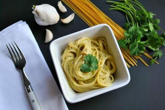 #Mexican green spaghetti